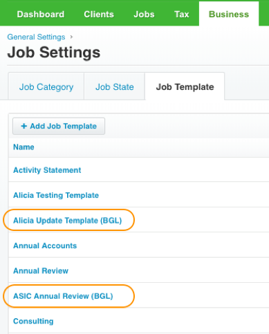 How to create BGL Job Template in Xero Practice Manager? – CAS 360